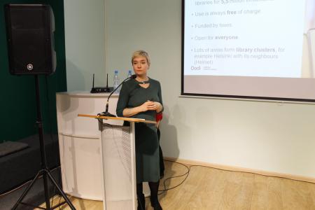 По словам Лотты Мууринен, открытие Oodi в 2018 году позволило в целом повысить популярность библиотек в Финляндии